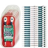 おもちゃ Colgate Wisp - Wisp Toothbrush - Spearmint - Camping Toothbrush - No Water Needed - Guaranteed Freshness. Mini Toothbrush Great for Camping Traveling. Small Package Compact Contains 4 Disposable Toothbrushes. Clean Teeth and Fresh Breath - 5 Packs [並行輸入品]