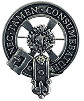 Gaelic Themes Clergy Clan Crest バッジ/ブローチ