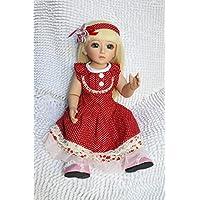 Goldenヘアボールジョイントアクションフィギュア人形BathベビードレスUp人形Lovely
