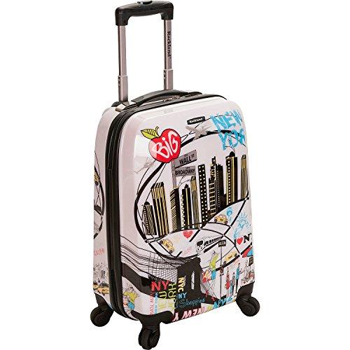 """ロックランド バッグ スーツケース Vegas Hardside Carry-On Luggage - 22"""" NEWYORK [並行輸入品]"""