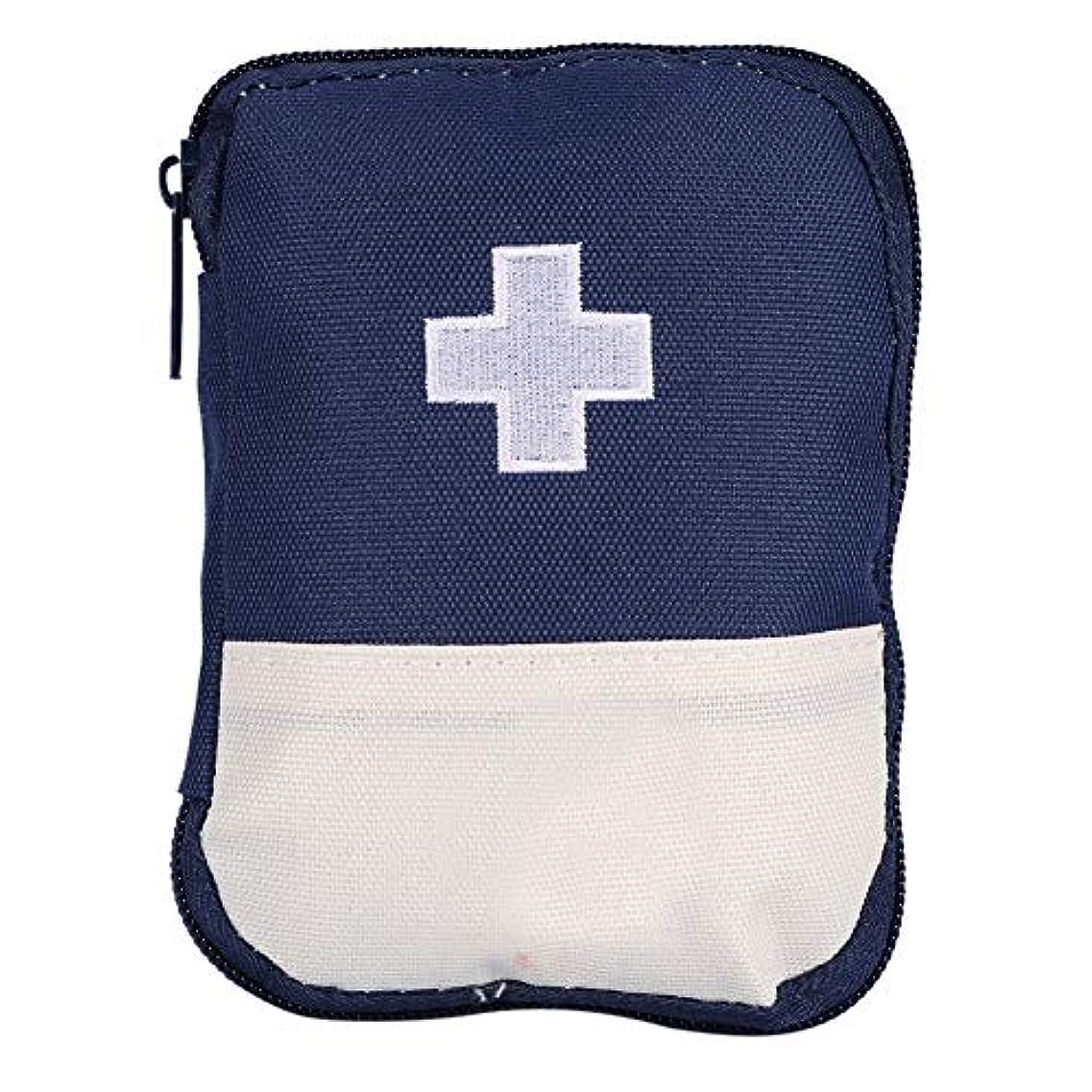 他の場所生理おんどりYxsd 応急処置キット 緊急サバイバルバッグ、耐久性のあるホームカー緊急救急救助サバイバルバッグ外傷ボックスケース医療ポーチサバイバル屋外 (Color : Blue S)