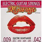 K-GARAGE エレキ弦 E/G 009-042 ライトゲージ 3SET PACK