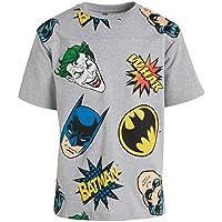 Warner Bros. Boys' Batman Superhero Fashion T-Shirt