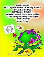 Pohon Cantik Buku Mewarnai Untuk Orang Dewasa Belajar Gaya Seni Surealisme Figuratif Gunakan Untuk Menghias, Hadiah Atau Sebagai Kenang-kenangan Oleh Seniman Grace Divine