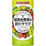 カゴメ 緑黄色野菜の飲むサラダ 195g×15本