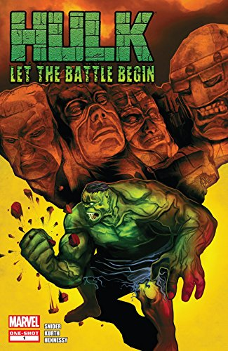 Hulk: Let The Battle Begin #1 (Hulk (2008-2013))