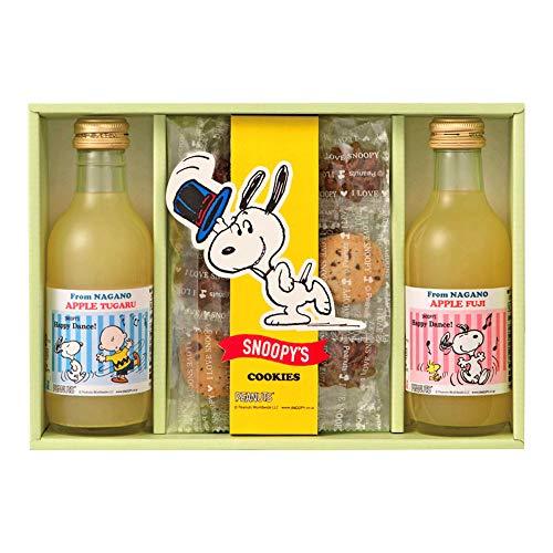 ジョイフルスヌーピー ジュース&クッキーセット SJS-A ジュース&クッキー詰合せ