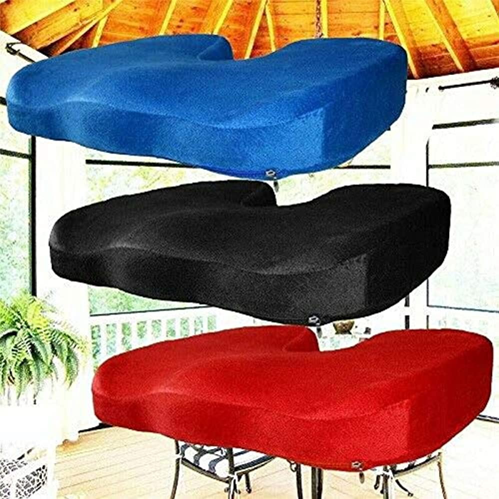 ぎこちない結果動員するLIFE ファッションブランド新ホット販売低反発シート綿クッションオフィスチェアクッション通気性頬 3 色 クッション 椅子