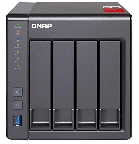 『QNAP(キューナップ) TS-451+ 専用OS QTS搭載 intelクアッドコア2.0GHz CPU 2GBメモリ 4ベイ ホーム/SOHO向け プライベートクラウド機能対応 NAS 2年保証』の1枚目の画像