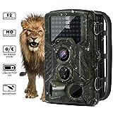 Wildlife Trail Camera - YKSハンティングゲーム用カム、赤外線ナイトバージョン、2.4インチLCDスクリーン、PIRセンサー、最大32GBのTFカード、46赤外線ライト、0.2秒のトリガースピード、IP56スプレーウォーター保護設計