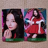 NMB48 [村瀬紗英] 2018 Xmas Special ランダム 生写真 2種 コンプ クリスマス スペシャル 12月December