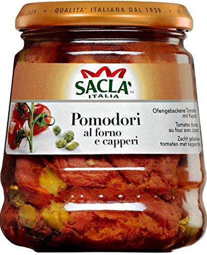 プラムトマトのアル・フォルノ ケッパー 285g