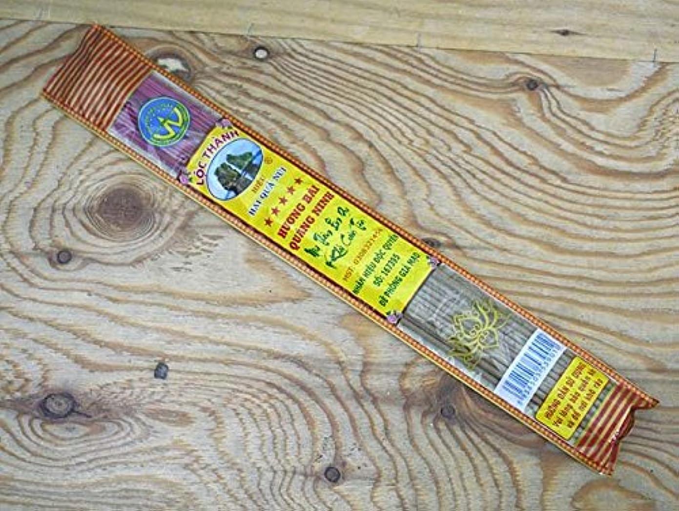 皿ワーム貢献Vietnam Incense ベトナムのお香【ビニールパック沈香スティック】 ハンドメイド