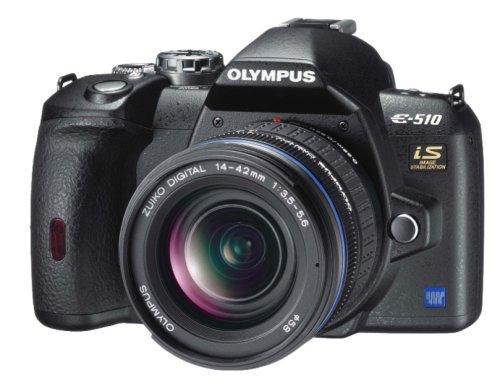 OLYMPUS デジタル一眼レフカメラ E-510ダブルズームキット