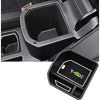 T-Roc用LFOTPPセントラルコントロールアームレスト収納ボックス(ホワイト)