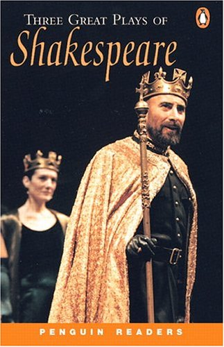 *THREE GREAT PLAYS OF SHAKESPEARE PGRN4 (Penguin Readers)の詳細を見る