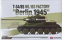 "ACA13295 1:35 Academy T-34/85 No.183 Factory ""Berlin 1945"" [MODEL BUILDING KIT] by Academy [並行輸入品]"