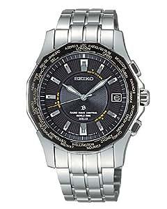 [セイコー]SEIKO 腕時計 BRIGHTZ ブライツ ワールドタイムソーラー 電波時計 SAGZ007 メンズ