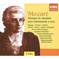 Mozart: Musique de chambre pour instruments a vent