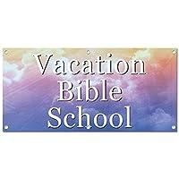 休暇聖書 School - 小売店のビジネスサインバナー