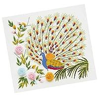 KOZEEY DIY 針縫い 3Dクロスステッチ キット ペインティング 刺繍 家 装飾 全4選択 - #1, 50x50cm