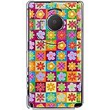 CaseMarket 【ポリカ型】 docomo LUMIX Phone P-02D ポリカーボネート素材 ハードケース [ 60's フラワー ]