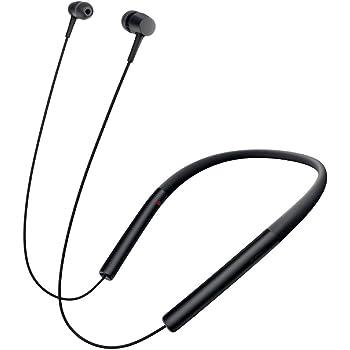 ソニー SONY ワイヤレスイヤホン h.ear in Wireless MDR-EX750BT : Bluetooth/ハイレゾ対応 リモコン・マイク付き チャコールブラック MDR-EX750BT B