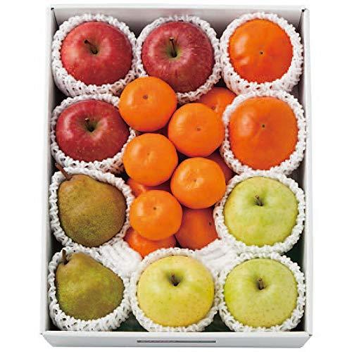 お歳暮 ギフト 果物セット フルーツ 人気商品 (りんご みかん ラ・フランス 柿 王林 詰合せ)