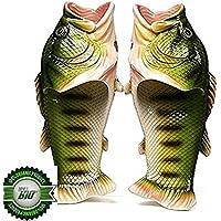 Hi8 Store Fish Animal Slippers Summer Beach Open Toe Shoes Slip Wear For Women Men Kids