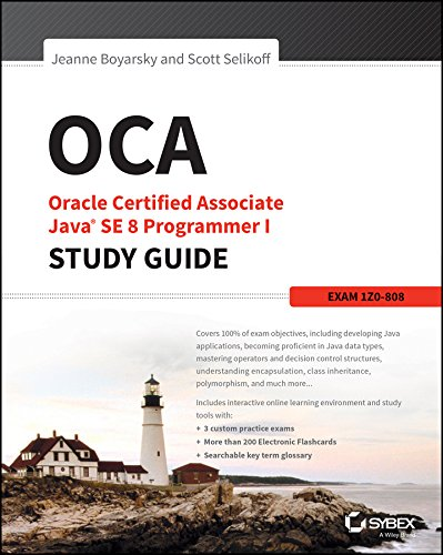 『OCA: Oracle Certified Associate Java SE 8 Programmer I Study Guide: Exam 1Z0-808 (English Edition)』のトップ画像