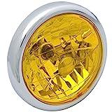 Big One(ビッグワン) バイク ヘッドライト PH7バルブ 交換 HONDA用 4Mini イエローレンズ 27962