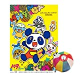 綿菓子袋 パブー&モジーズ (100入)  / お楽しみグッズ(紙風船)付きセット