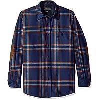 Pendleton Mens RA176 Long Sleeve Button Front Fitted Trail Shirt Long Sleeve Button Down Shirt