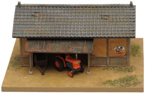 トミーテック ジオコレ 情景コレクション 情景小物070 農機小屋と農機A ジオラマ用品