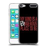 オフィシャル WWE Dangerous Mind ディーン・アンブローズ ソフトジェルケース Apple iPod Touch 6G 6th Gen