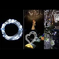 40 LEDs 4M Battery Operated Mini LED Copper Wire String Fairy Lights Beautiful