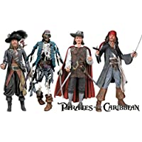 Pirates Of The Caribbean Action Figures Series1 Set of 4