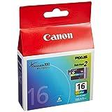 Canon 純正インクカートリッジ BCI-16 Color 3色カラー 2個パック BCI-16CLR