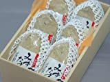 大阪泉州名産 水なすの浅漬け(ぬか漬け) 6個化粧箱入