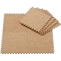コルクマット 6畳用 108枚 サイドパーツ付 福袋 ラグカーペット