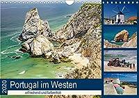 Portugal im Westen - erfrischend und farbenfroh (Wandkalender 2020 DIN A4 quer): Foto-Reise entlang der Westkueste Portugals (Monatskalender, 14 Seiten )
