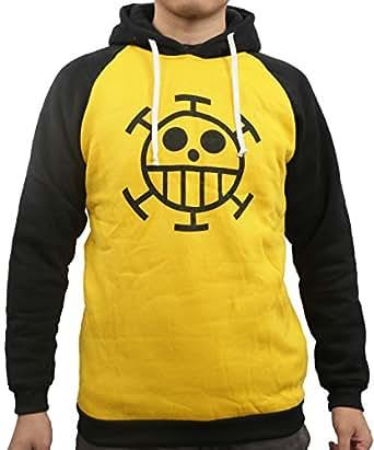 コスプレ衣装ONE PIECE ワンピース トラファルガー・ロー風 長袖Tシャツ パーカー Lサイズ コスチューム、コスプレ