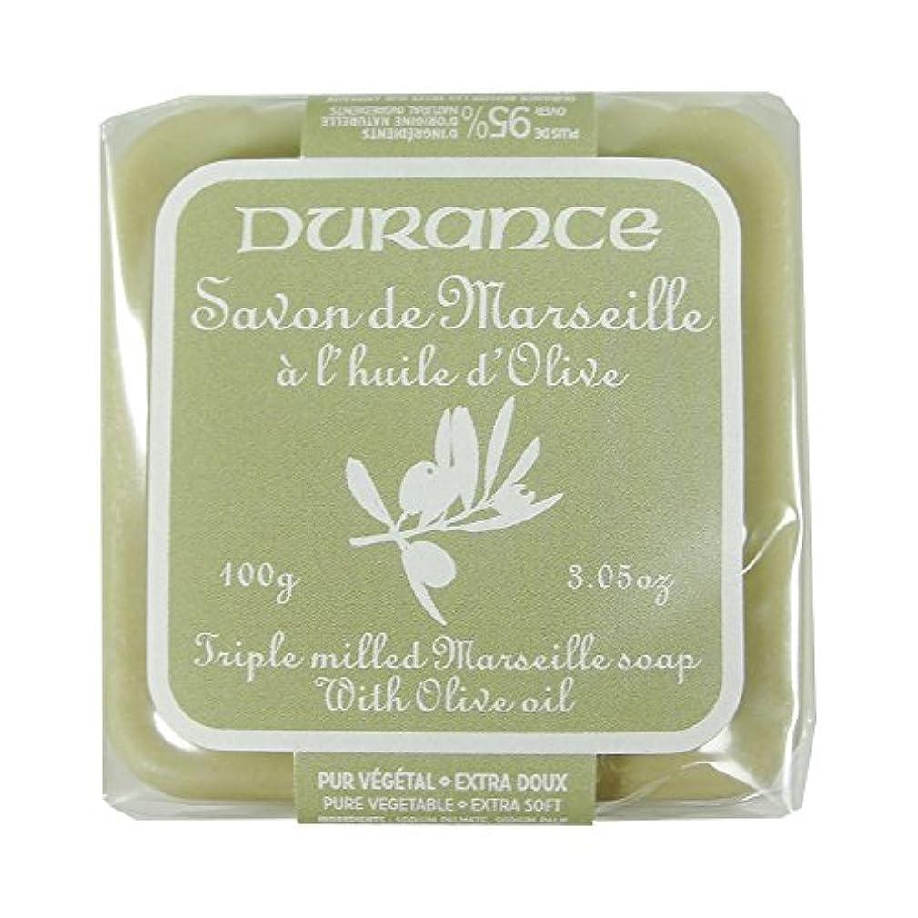 黒花に水をやる抽象DURANCE(デュランス) マルセイユソープ 100g 「オリーブ」 3287570405160