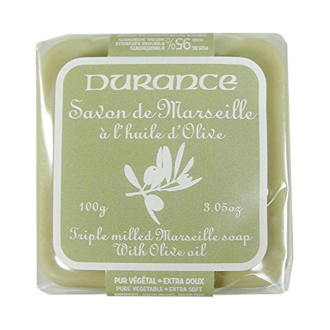 絶滅させるミルク友情DURANCE(デュランス) マルセイユソープ 100g 「オリーブ」 3287570405160