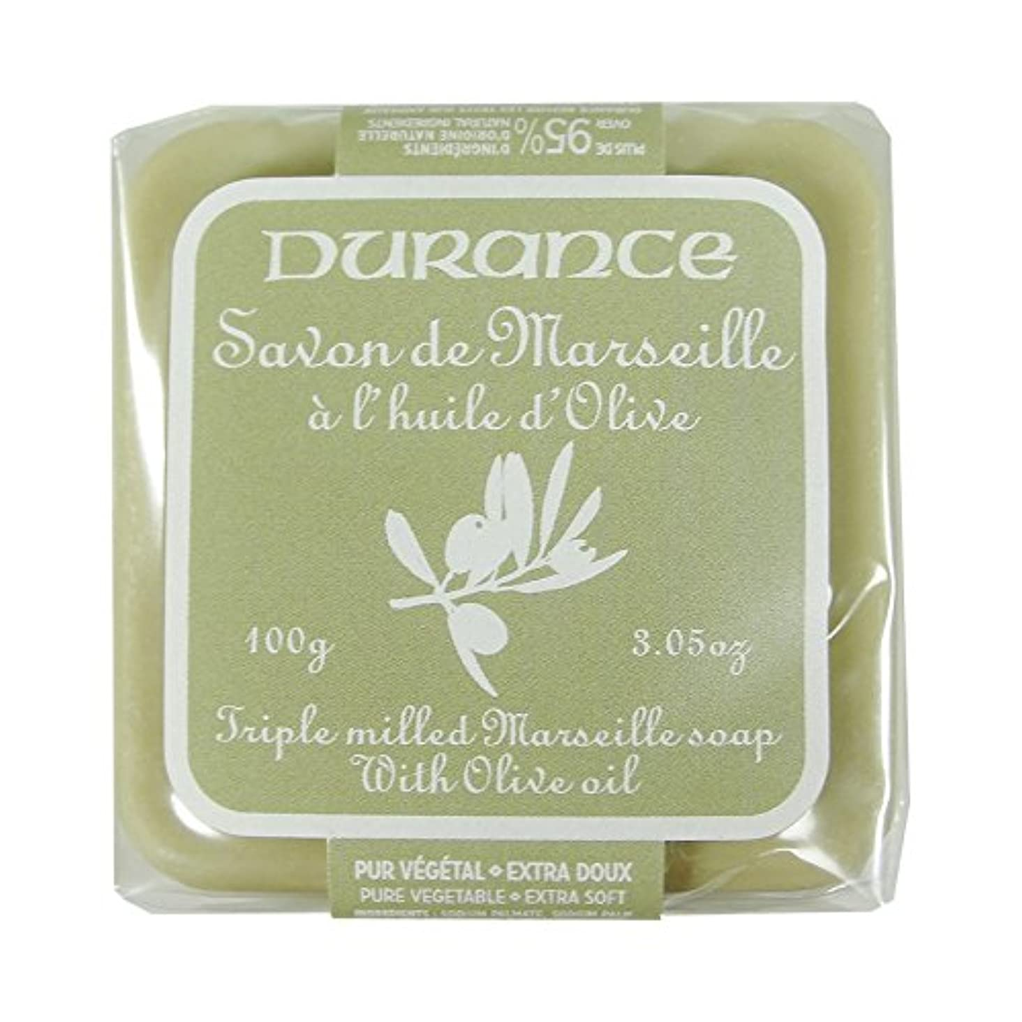 バット聞く瞑想DURANCE(デュランス) マルセイユソープ 100g 「オリーブ」 3287570405160
