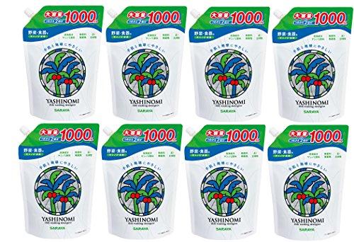 ヤシノミ洗剤 つめかえ用 1000ml×8個