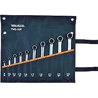 TRUSCO(トラスコ) コンビネーションスパナ(スタンダード) セット (10本組) TMS-10S