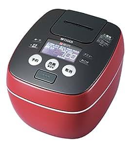 タイガー 炊飯器 圧力IH 「炊きたて」 5.5合 ラスターレッド JPB-G100-RL