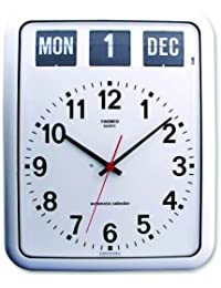 TWEMCO (トゥエンコ) 掛け時計 パーペチュアルカレンダー機能 BQ-12A White