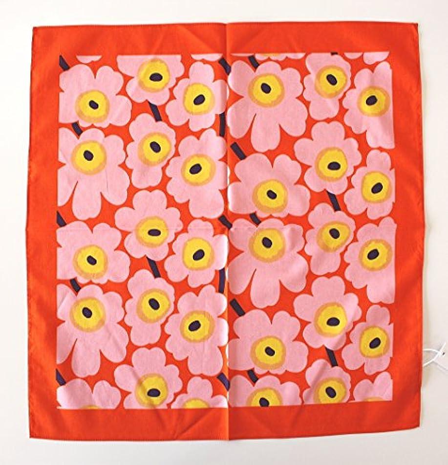 ピーブ保有者テーブルマリメッコ スカーフ MARIMEKKO MINI UNIKKO(ミニウニッコ) SCARF 52183-6-46166 col.76(オレンジ&ピンク)